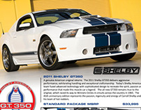 Shelby GT350 | Promotional Flyer