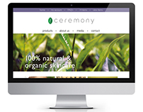 - Ceremony Website Design