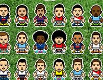 TOP transfers 2013/14