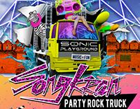 Songkran Party Rock Truck