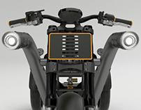 TUBE - new generation cargo motorcycle