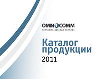 Дизайн и вёрстка каталога Omnicomm