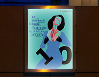10th Slovenian Biennial of Illustration / Identity