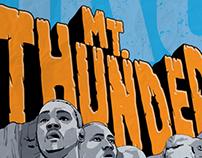 Mt. Thunder - Poster, iPhone Case, T-shirt design
