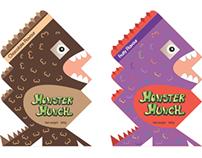 CHILDREN'S CEREAL PACKAGING- Monster Munch