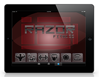 Razor Fitness: Gym Assistance iPad Dock