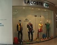 Lacoste-Window Display