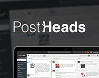 Postheads.com - web app design story
