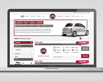 Fiat Used Car Locator Website Development