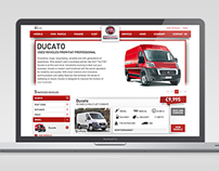 Fiat Professional Used Van Locator Website