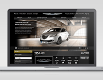 Chrysler Used Vehicle Locator Website Development