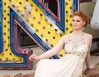 Fashion Photo shoot - Neon Museum