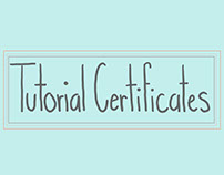 Tutorial Certificates
