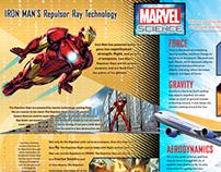 Marvel educational inserts