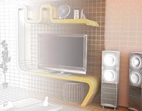 3D Conceptual Room