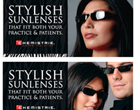 Chemistre Lenses Advertising