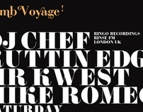 Bomb Voyage - Flyer Artwork 2008