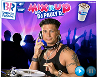 Mix It Up with Pauly D - Baskin-Robbins