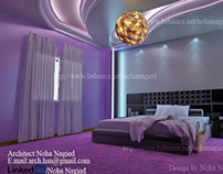 MASTER bed room curvy ceiling
