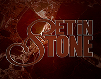 Set in Stone Tile Works, Logo/Business Card