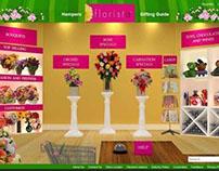 Website Designing for Florista