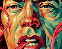 MICK JAGGER Editorial Portrait