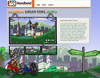 Addictive Urban Trike Jumps Design Template