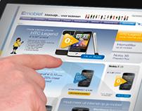 Emobiel | Webshop mobile provider