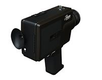 Exakta 8mm Video Camera 3D Drawing