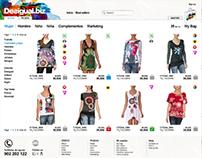 Desigual's B2B site redesign