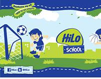 HiLo Branding Lapangan SD Perjuangan Depok