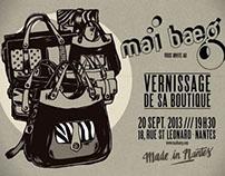 """Vernissage of """"Mai Baeg"""" with Zigoto Careau"""