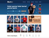 Koszulkowo.com - redesign