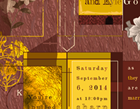 Wedding Invitation rough draft