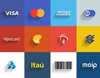 Meios de pagamento Moip - Flat