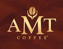 AMT Coffee branding