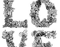 L O V E Type Design