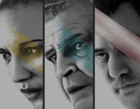'Fringe' Conceptual Portraits