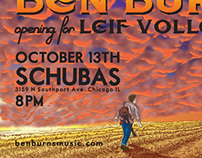 Ben Burns Show Poster 10-13-13