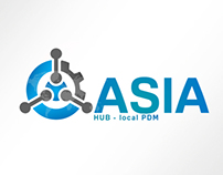 Logo Design - ASIA HUB local PDM