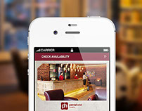 PENTAHOTELS  // MOBILE WEBSITE