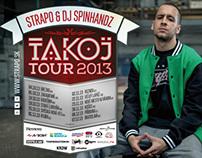 Strapo & Dj Spinhandz – Takoj Tour 2013