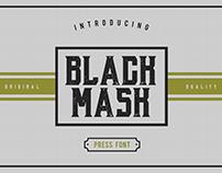 BLACK MASK - FREE FONT