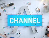 Channel A Network Branding 2015 - Main ID 'Creative'