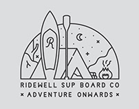 Ridewell SUP Board Co Graphics