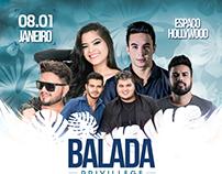 BALADA PRIVILLEGE | PARAUAPEBAS