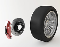 Tire and Brake System