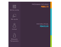 Nubank Interface - Case study
