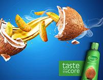 Coconut Oil print campaign..