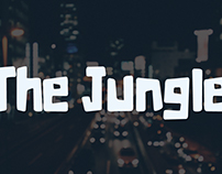 The Jungle - typeface